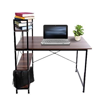 ridgeyard Moderno 4 estantes de Almacenamiento estantes, mesas de ...