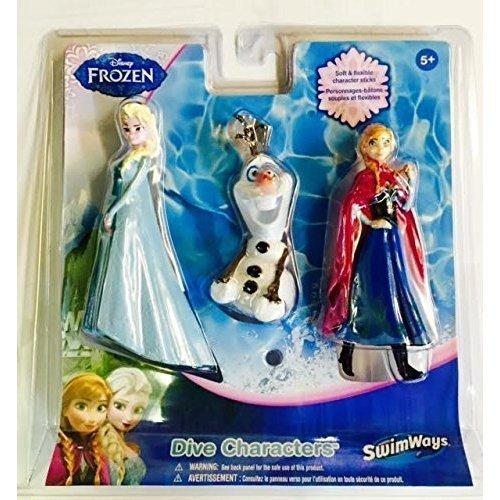 Disney Frozen Dive Sticks - Set of 3- Elsa, Anna and Olaf