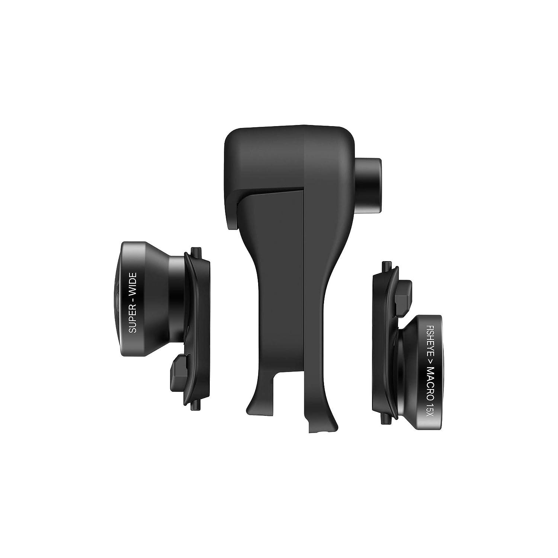 Negro Microscopio Digital Video Foto Alta Definici/ón olloclip Lente Macro 7x//14x iPhone X
