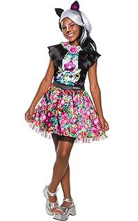 Enchantimals - Disfraz de Sage Skunk para niña, 3-4 años (Rubies 641216