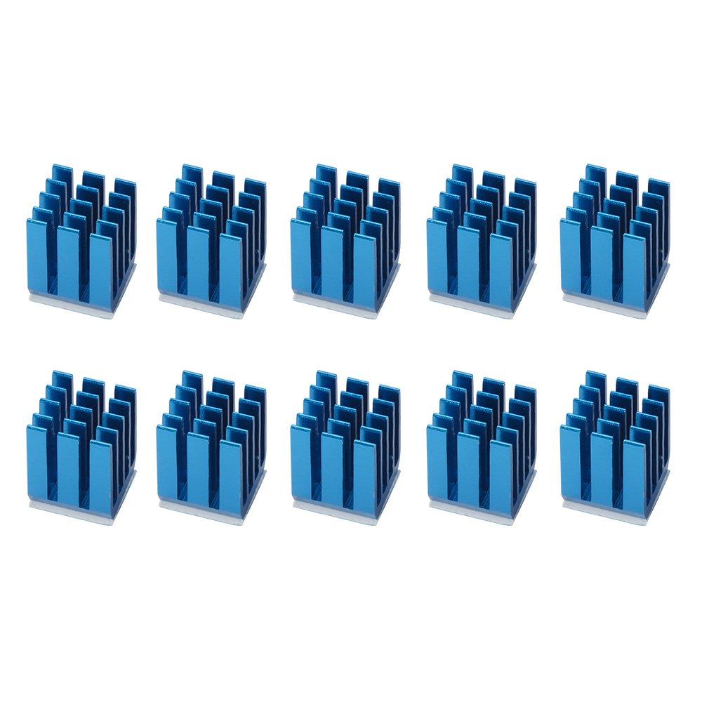 XCSOURCE 10Pcs Cooling Block Heatsink for TMC2100 LV8729 DRV8825 Stepper Motor Driver Module 3D Printer TE832