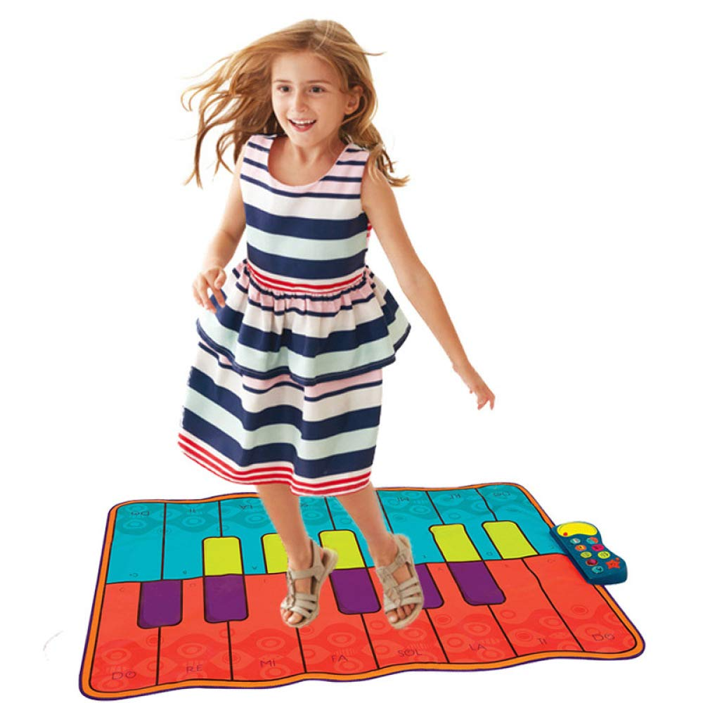 QXMEI Piano Dance Mat Children's Music Game Mat Fitness Mat Parent-Child Interactive Toys by QXMEI (Image #1)