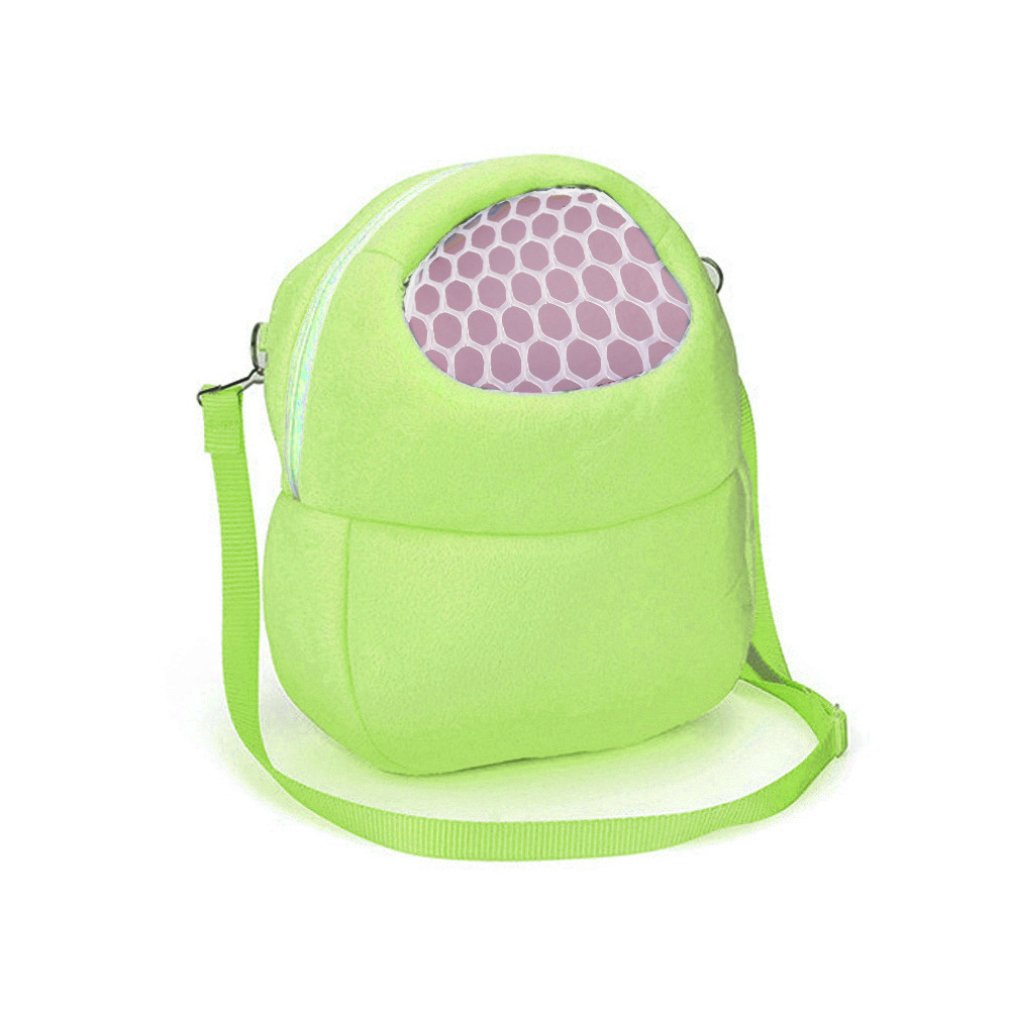 Livoty Toy Storage Organizer Compatible With Small Pets Durable Carrying Backpack (Green)