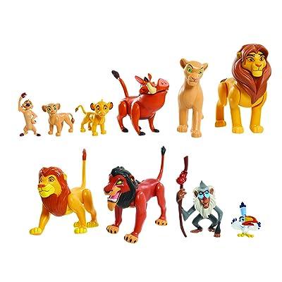 JP Lion King LNN08000 The Lion King Deluxe Figure Set, Nylon/A: Toys & Games