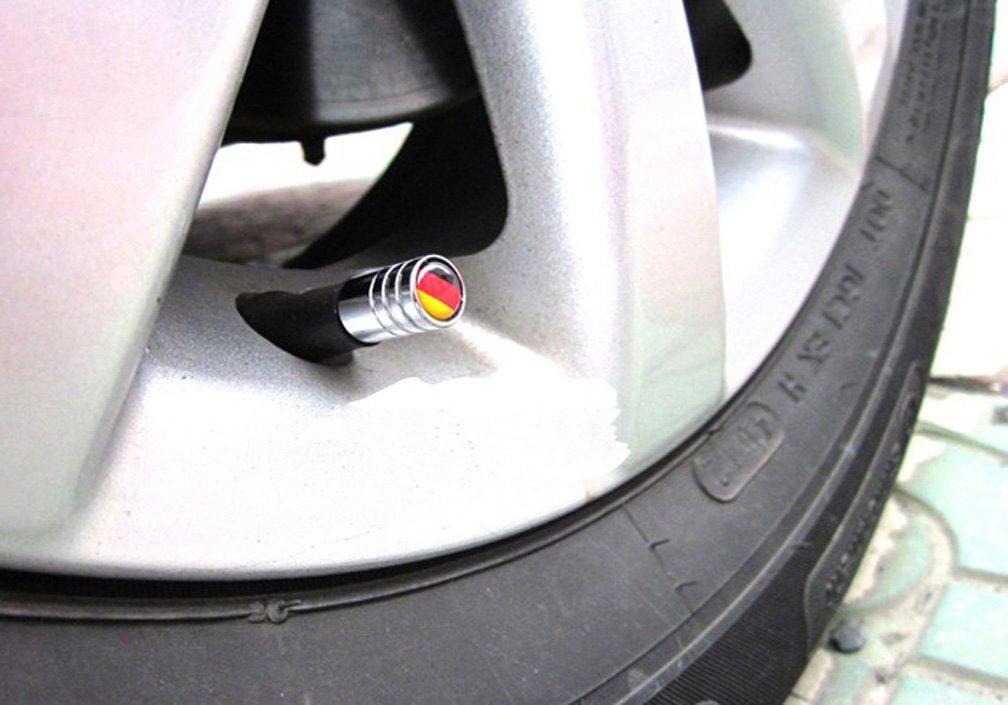 Harvard kid DIY Car Parts Tire Valve Stem Caps for Audi All Models S