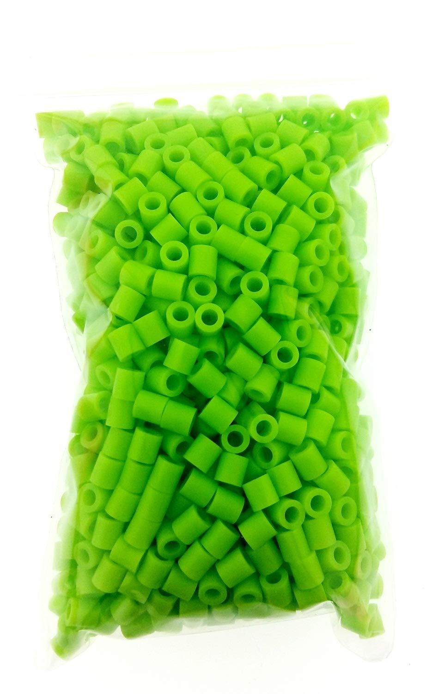 3D Bambine Compleanno Creare Gioielli Perline a Fusione Colore Fuxia Perline da Stirare Idea Regalo 1000 Pezzi Gioco Creativo 5 mm Natale