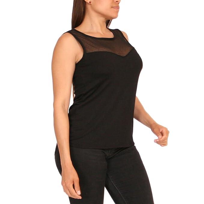 JANIRA Camiseta Versalles - Negro - S  Amazon.es  Ropa y accesorios 60439ae3ed8f