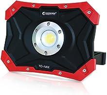 実用新案登録 GOODGOODS COB 充電式 LED 作業灯 N50磁石 4モード 30W USBポート付 ポータブル投光器 工事用 夜釣り アウトドア用 YC-N8X