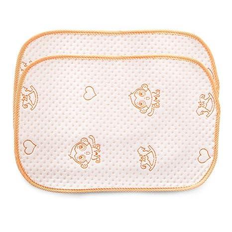 2 piezas de Almohadilla para cambiar pañales impermeable para bebés de verano Estera para dormir,