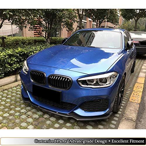 Amazon.com: MCARCAR KIT F20 Front Spoiler, Pure Carbon Fiber Front Bumper Lip fits BMW 1 Series F20 F21 M Sport Hatchback   2016 2017 2018 Add-on Chin Lip ...