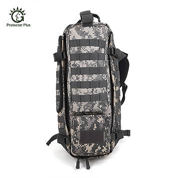 Protector Plus 20L exterior táctico militar bolsa impermeable mochila para Trekking Camping escalada,camuflaje acu: Amazon.es: Deportes y aire libre