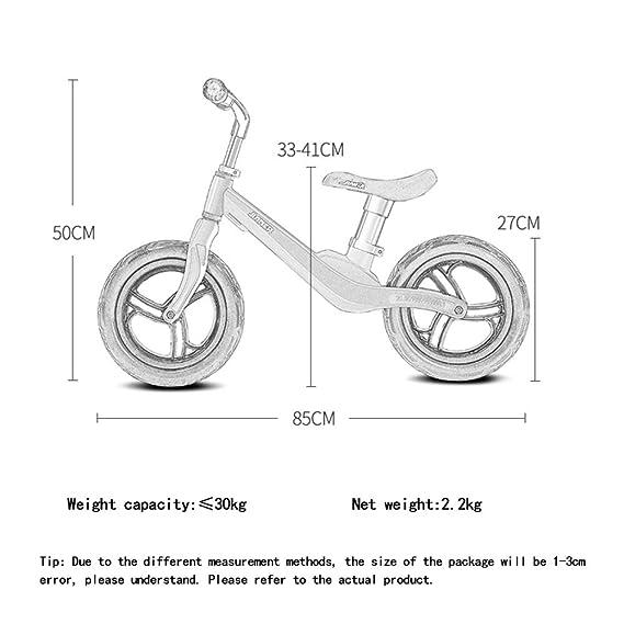 YSAN Marco De La Aleación del Magnesio De La Aviación De Bike Bike De Los Niños Peso Neto 2.2kg,Blue-12: Amazon.es: Deportes y aire libre
