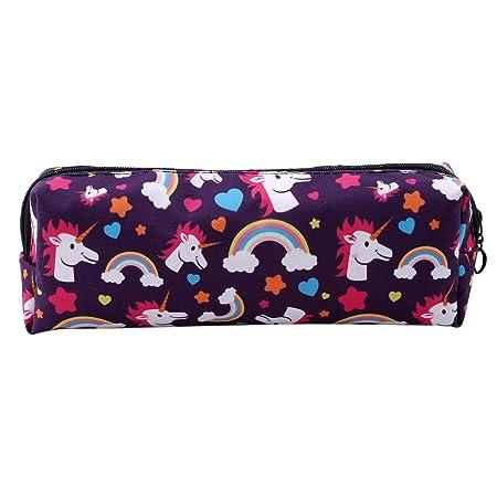 HENGSONG Women Girls Unicorn Makeup Pouch Cosmetics Bag Key Bag Coin Purse Case with Zipper...