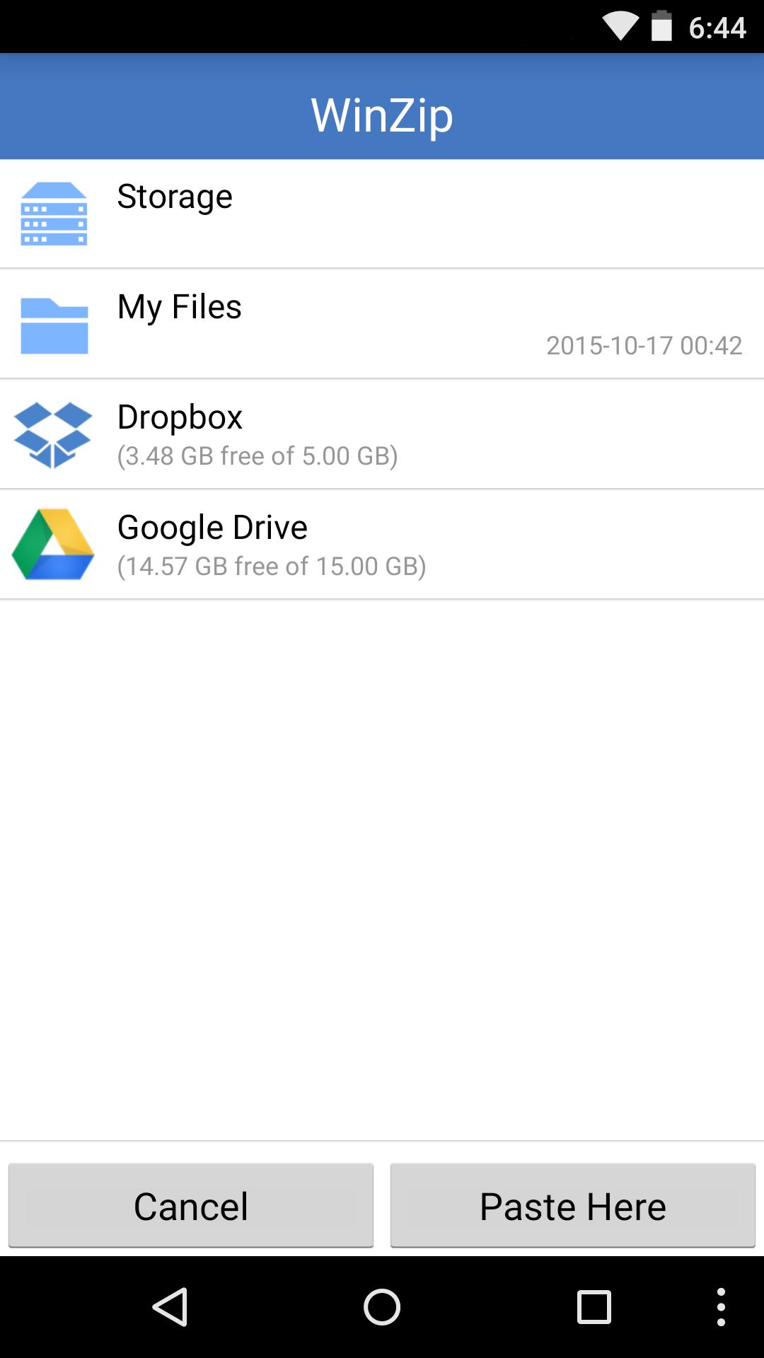 WinZip - Zip UnZip Tool  Easily Open Zip Files - Import It All