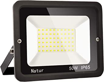 50W LED Foco Exterior Alto Brillo Proyector Led Impermeable IP65 Blanco Cálido 3000K Floodlight Led Foco Exterior Iluminación para Patio, Camino, Jardín, Almacén [Clase de Eficiencia Energética A++]: Amazon.es: Iluminación