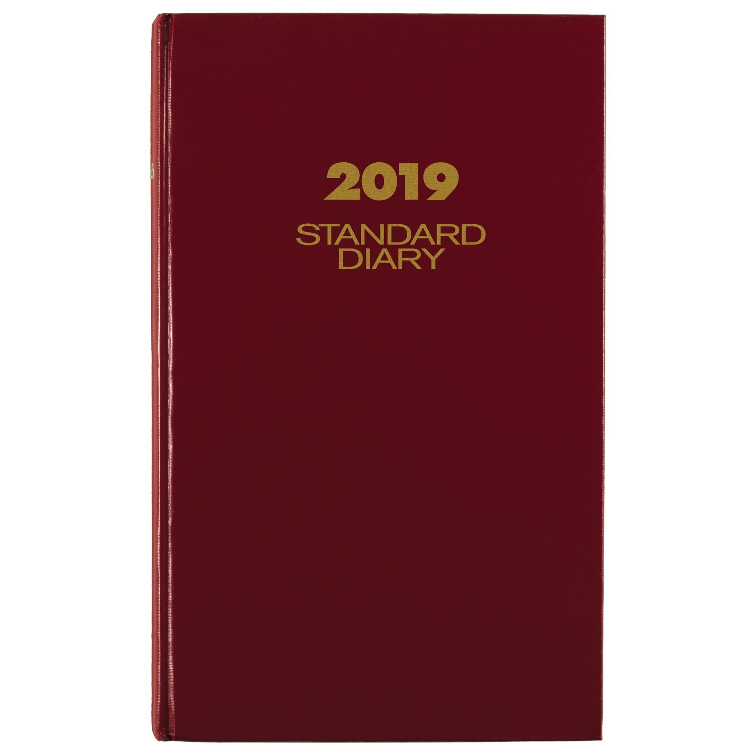 AT-A-GLANCE 2019 Daily Diary, January - December, 8-3/16'' x 13-7/16'', Standard, Red (SD38179)