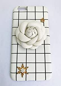 IPhone 6 Plus Cover with White Rose Accessory