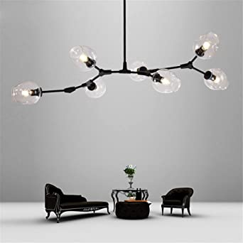 Glaskugel Verzweigung Bubble Anhänger Kronleuchter Für Esszimmer Wohnzimmer  Moderne Kronleuchter Lüster Led Beleuchtung Avize E27 Lampe