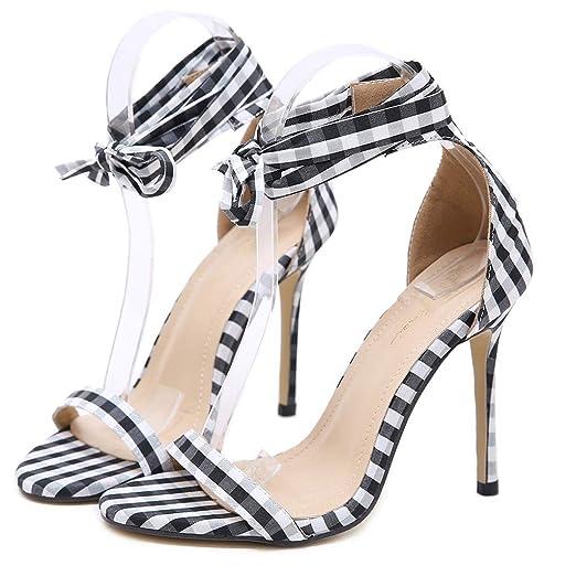 54dda492a7a Amazon.com  Women s Stiletto High Heel Sandal