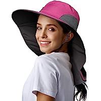 Fishing Hats For Men Baseball Cap Fishing Fishing Caps For Men Womens Hiking Fishing Hat Waterproof Nylon Wide Brim Hat…