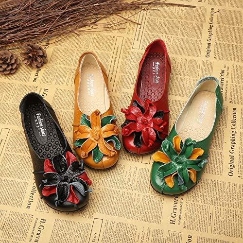 ZHRUI Taille coloré 41 EU Jaune Noir Chaussures 6qSwxr6