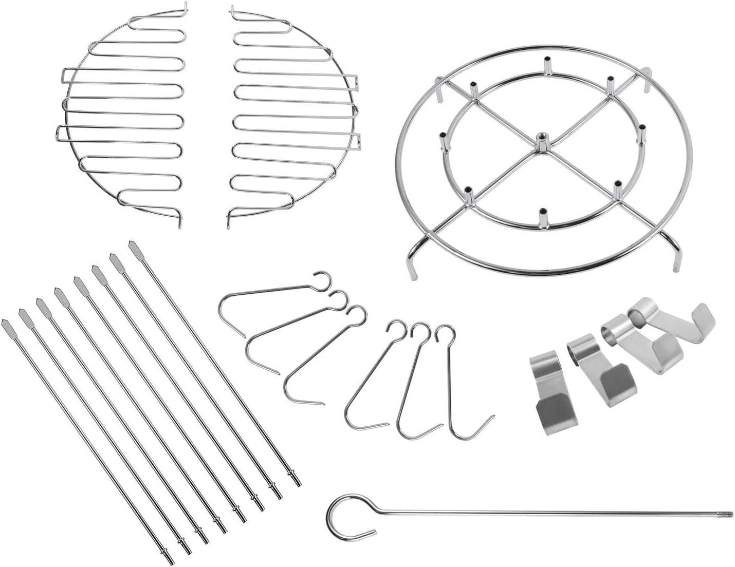 BBQ Future Turkey Fryer Accessory Kit for Char-Broil The Big Easy Turkey Fryer Accessories, 22-Pcs, Stainless Steel