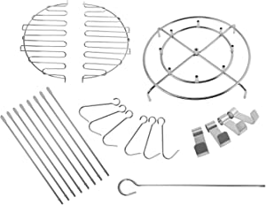 BBQ Future Turkey Fryer Accessory Kit for Char-Broil The Big Easy Turkey Fryer Accessories, 22-Pcs, Stainless Steel