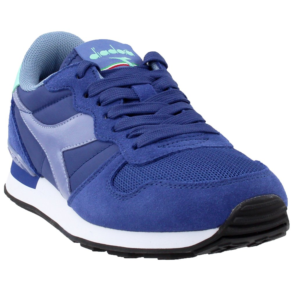 Diadora Men's Camaro Running Shoe B077XZX1GF 4.5 D(M) US|Blue Depths/Blue Ice