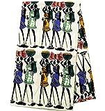 African Ankara Fabric Wholesale African Dress Tess World Designs | Ankara Clothing Ankara Fabric Ankara Print African Fabric TP89 (White)