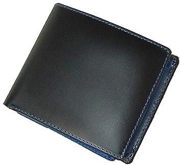 cccbf0aa2e4c Amazon.co.jp: 高級コードバン×牛革2つ折り財布 [ Maturi 091 ] メンズ ...