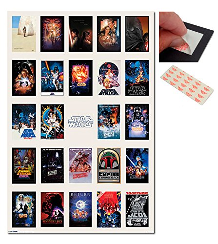 Bundle - 2 Items - Star Wars One Sheet Collage Poster - 91.5