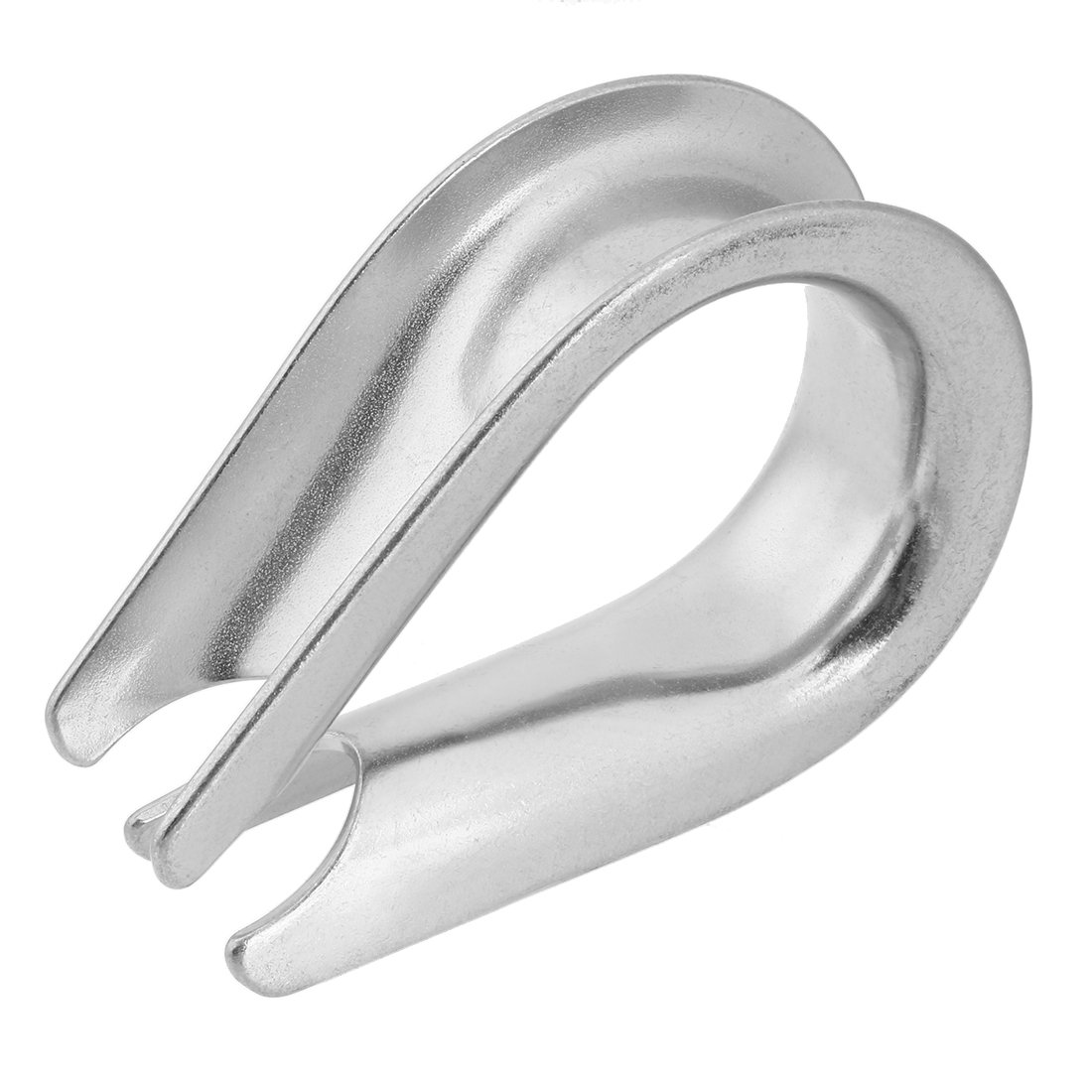 uxcell 304 Stainless Steel Thimble for 0.79 inch (20mm) Diameter Wire Rope 5pcs by uxcell (Image #4)