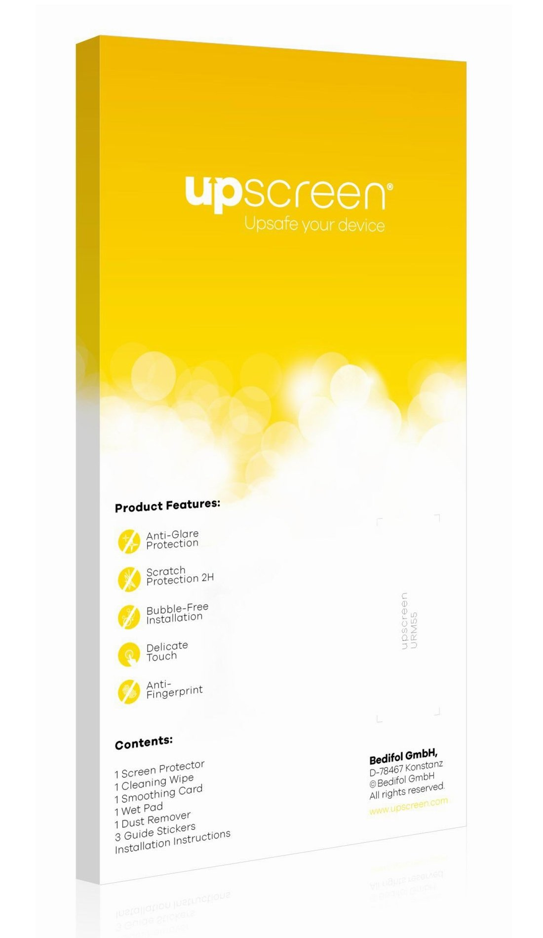 upscreen Reflection Shield Matte Screen Protector for Acer Travelmate 320, Matte and Anti-Glare, Strong Scratch Protection, Multitouch optimized by upscreen (Image #3)