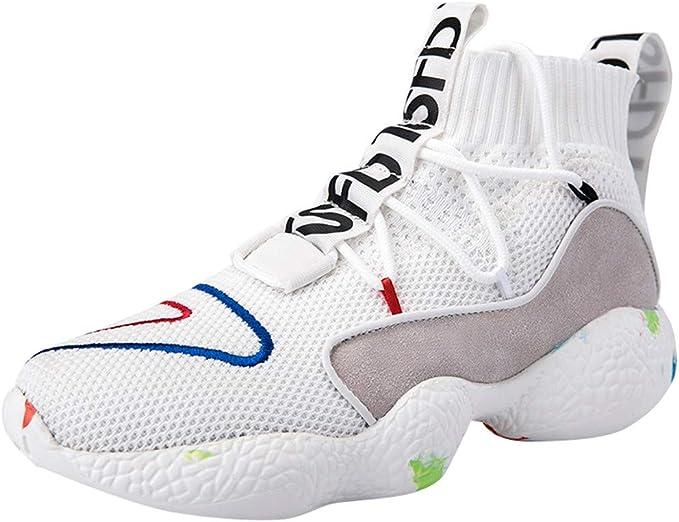ZODOF Zapatillas Calzado Deportivo Pareja Al Aire Libre Malla con Cordones Casual Zapatos Deportivos Correr Respirable Zapatos Zapatillas Sneakers: Amazon.es: Ropa y accesorios