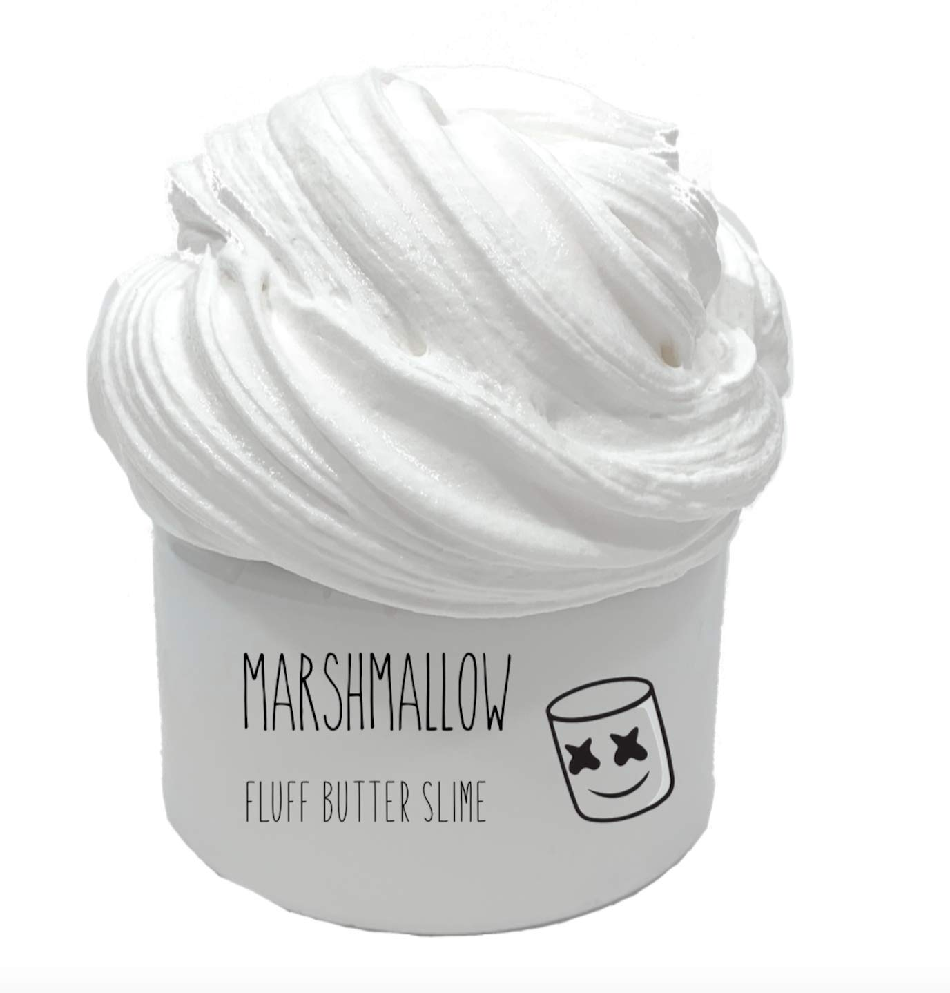 FREE SHIPPING! 8oz Marshmallow Fluff Butter Slime