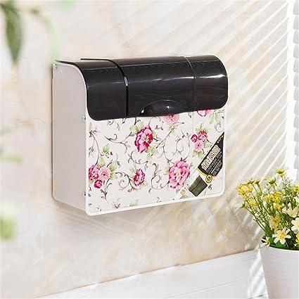 Carolina Trade- Cuarto de baño WC de plástico caja de papel caja de papel higiénico
