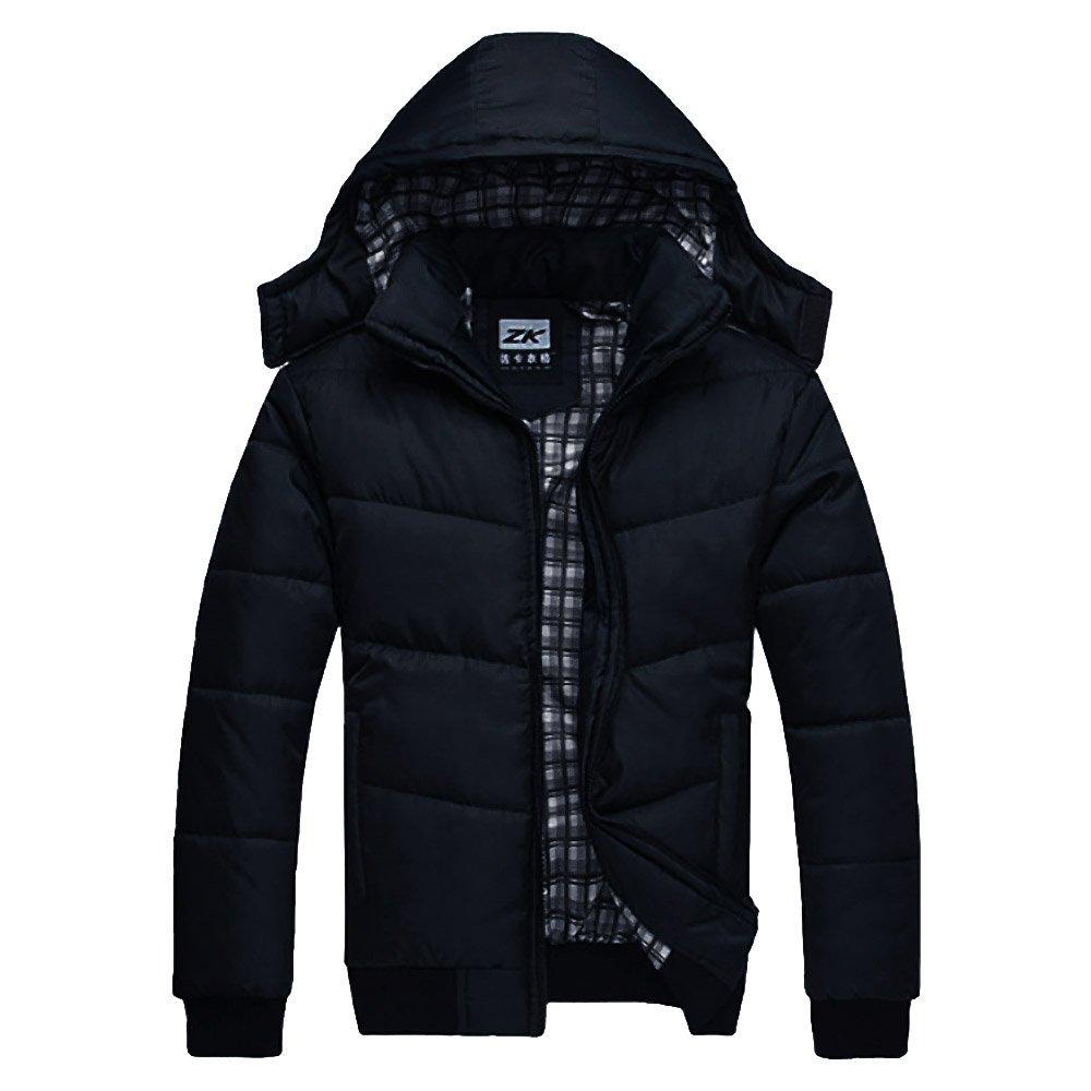 Cocobla Fashion Britain Style Winter Man's Warm Jacket Outwear Paka Down Overcoat