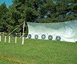 BowZoo Premium Archery Backstop Safety Netting 10' x 20'