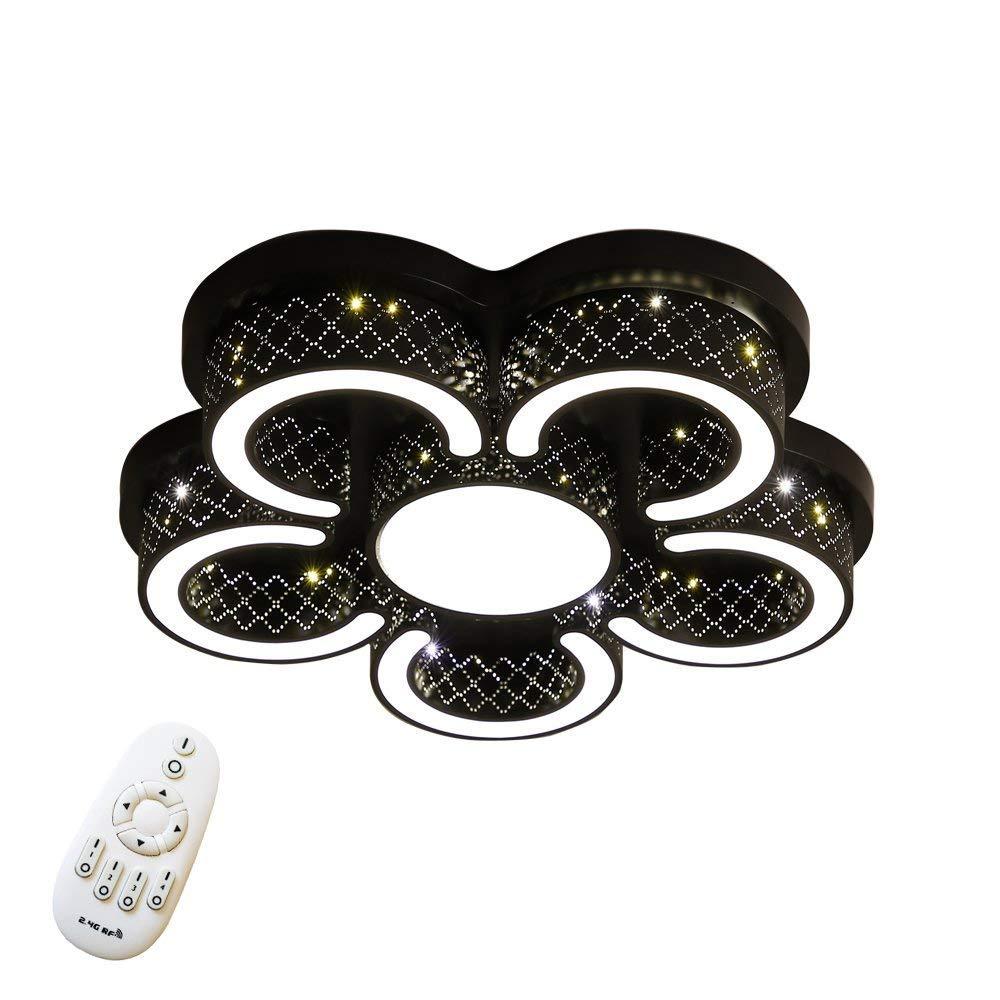FROADP 72W LED Deckenlampe C-förmige C-förmige C-förmige Deckenleuchte für Flur Wohnzimmer Schlafzimmer Küche Farbe Schwarz (5C Schwarz-Dimmbar) 3f39af