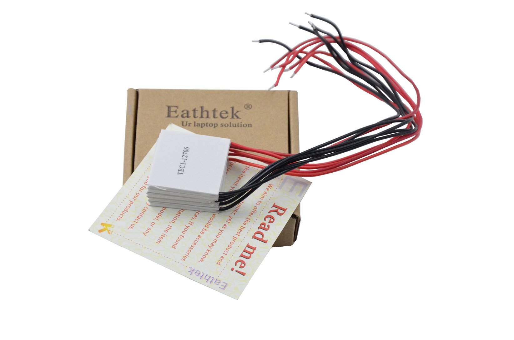 Vktech TEC1-12706 Thermoelectric Cooler Heat Sink 12V 5.8A 5Pcs
