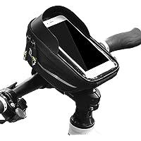 Lixada Stuurtassen waterdichte front frame top tube tas met touchscreen telefoonhouder case fietsen telefoon gereedschap…