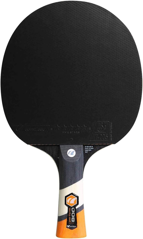 Cornilleau Unisex Perform 800Raqueta de Tenis de Mesa, un tamaño