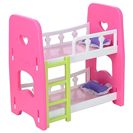 Amazon Com You Me Baby Doll Bunk Bed Toys Games