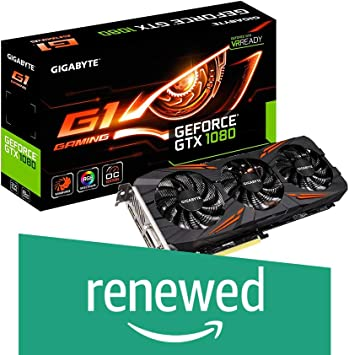 Amazon.com: Gigabyte GeForce GTX 1080 Founders Edition ...