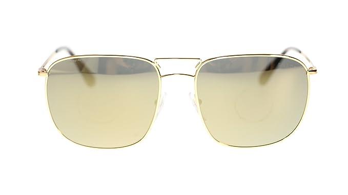 f0e8e8e9e685 ... get prada mens sunglasses pr52ts 5ak4l0 gold dark grey mirror gold  rectangular 60mm b2dbd 1ff78