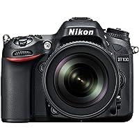Nikon 0018208934744 D7100 Digital SLR Kamera (24.2 MP, 18-105 mm VR Lens) 3.2-Inch LCD Screen DSLR Kamera
