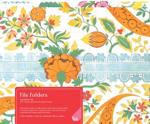 Museum File (V&A Spitalfields Silk File Folders)