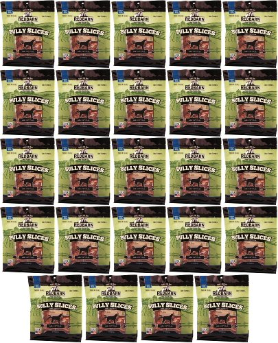 Red Barn Bully Slices 13.5Lbs (24 x 9oz bag) by REDBARN