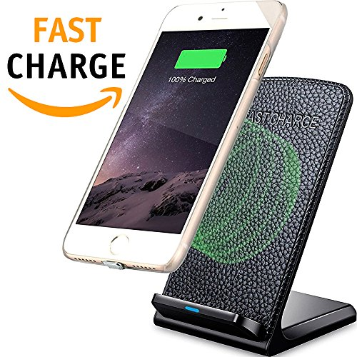 QI Wireless Charger-Samsung Wireless Charger - Wireless Charging Stand - Fast QI Wireless Charger - Samsung Galaxy S8 S7 S6 and Note – Apple Wireless Charger IPhone X-8-8Plus- QI Wireless Charging Pad by Ytech