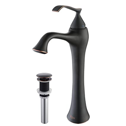 Ordinaire Kraus KEF 15000 PU15ORB Ventus Single Lever Vessel Bathroom Faucet With Pop  Up Drain
